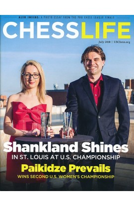 CLEARANCE - Chess Life Magazine - July 2018 Issue