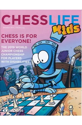 Chess Life For Kids Magazine - December 2019 Issue