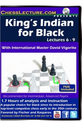 King's Indian for Black Lectures 6-9 - Chess Lecture - Volume 83