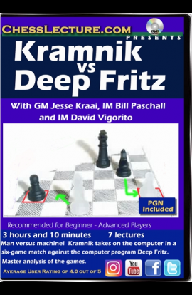 Kramnik vs Deep Fritz - Chess Lecture - Volume 168