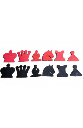 "Extra Pieces for 28"" Magnetic-Style Chess Demonstration Set"