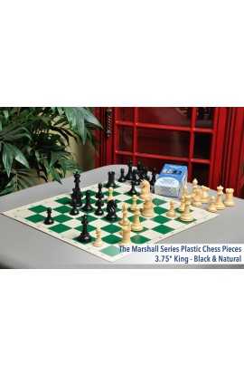 Musketeer Chess Fortress and Unicorn Kit Bundled with HOS Luxury Plastic Chess Pieces