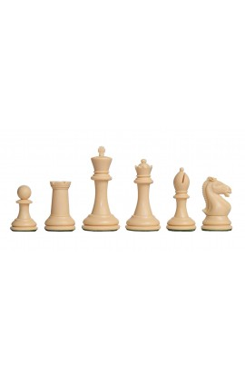 """The Hastings Series Plastic Chess Pieces - 3.875"""" King"""