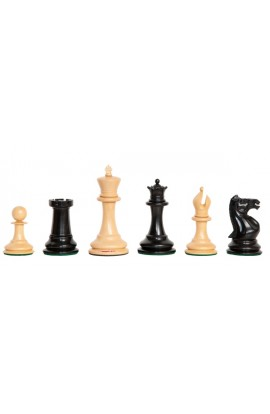 "The Camaratta Collection - The 1852 Paulsen Series Chess Pieces - 4.4"" King"