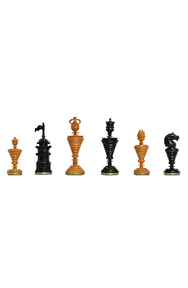 """The Anglo-Dutch Reproduction Luxury Wood Chess Pieces - 4.75"""" King"""