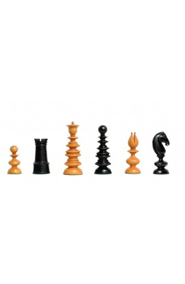 """The Calvert Series Luxury Chess Pieces - From the Camaratta Collection - 4.4"""" King"""