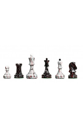 """CLEARANCE - The Dubrovnik Artisan Series Chess Pieces - 3.75"""" King"""
