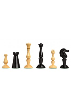 """The Strand Series Timeless Chess Pieces - 4.4"""" King - Natural Boxwood"""