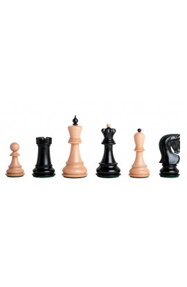 """The Zagreb '59 Series Gilded Chess Pieces - 3.875"""" King"""