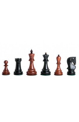 """CLEARANCE SALE - The Zagreb Elite Series Chess Pieces - 3.875"""" King"""