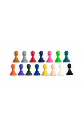 """Regulation Silicone Tournament Chess Pieces - 3.5"""" King"""