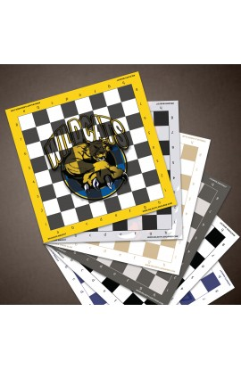 Custom Full Color Vinyl Chess Board - AS LOW AS $9.95