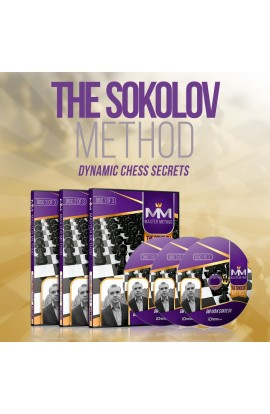 E-DVD - MASTER METHOD - The Sokolov Method - GM Ivan Sokolov - Over 15 hours of Content!