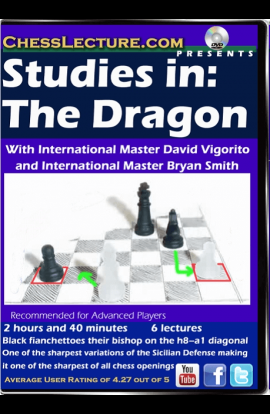 Studies in: The Dragon - Chess Lecture - Volume 132
