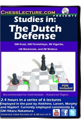 Studies in the Dutch Defense - Chess Lecture - Volume 106