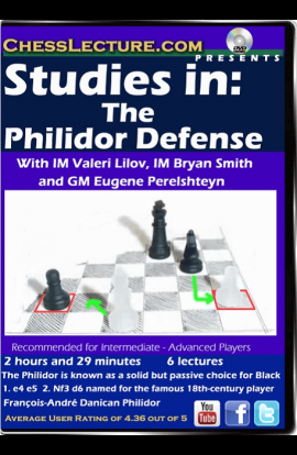 Studies in: The Philidor Defense - Chess Lecture - Volume 140