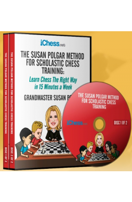 The Susan Polgar Method for Scholastic Chess - Volume 1