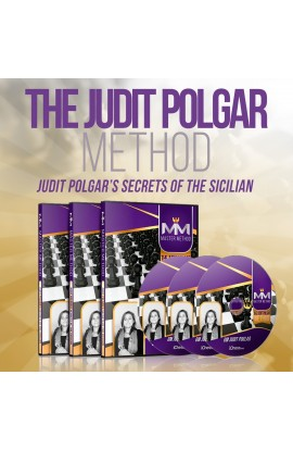 E-DVD - MASTER METHOD - The Judit Polgar method - GM Judit Polgar - Over 15 hours of Content!