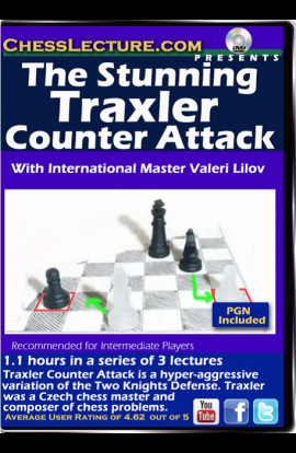 The Stunning Traxler Counter Attack - Chess Lecture - Volume 159