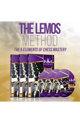 E-DVD - MASTER METHOD - The Lemos Method - GM Damian Lemos - Over 15 hours of Content!