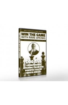E-DVD - Win the Game with Rare Opening - D00 A45 Trompowsky Attack