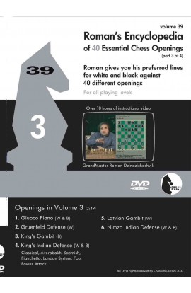 ROMAN'S LAB - VOLUME 39 - Encyclopedia of Chess Openings - PART 3
