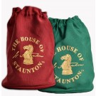 The House of Staunton Drawstring Chess Bag