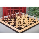 """The Santa Series Chess Pieces - 5.7"""" King - Blood Rosewood"""