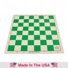 "Single-Fold Regulation Linen Chess board - 2.25"" Squares"