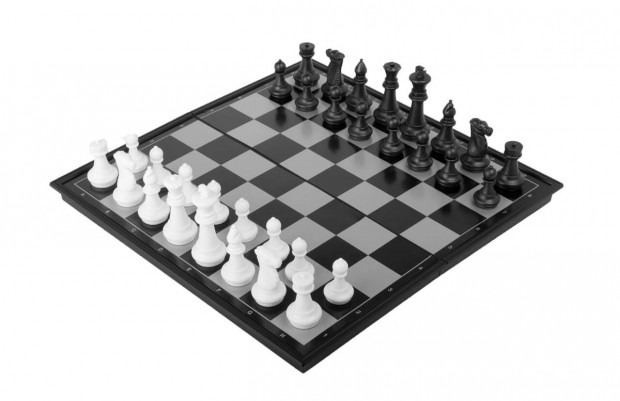 """14"""" Magnetic Travel Chess & Checkers Set"""
