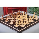 """The Twisted Series Luxury Chess Pieces - 4.4"""" King - Golden Rosewood"""