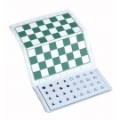 "US Chess Large Checkbook Magnetic Travel Chess Set - 9"" x 9"" Board"