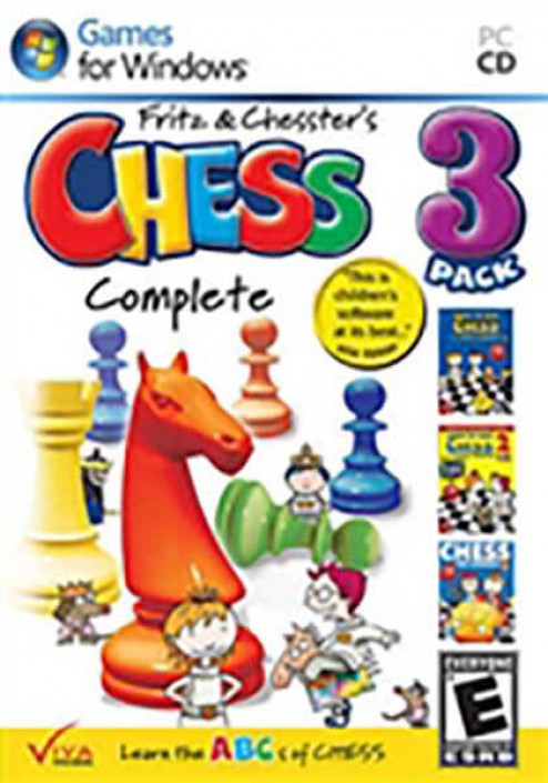 Learn to Play Chess With Fritz and Chesster - Chesster Complete - Vol. 1,2,3