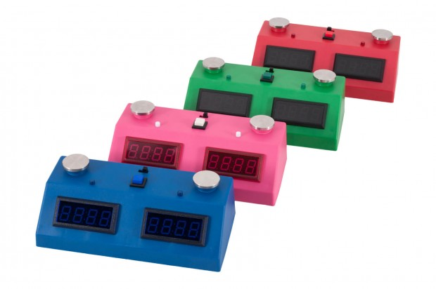 ZMart Fun II Digital Chess Clock with Colored Exterior