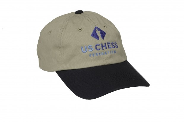 New U.S. Chess Federation Baseball Hat