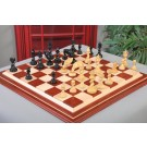 """The Twisted Series Chess Pieces - 4.4"""" King - Genuine Ebony"""
