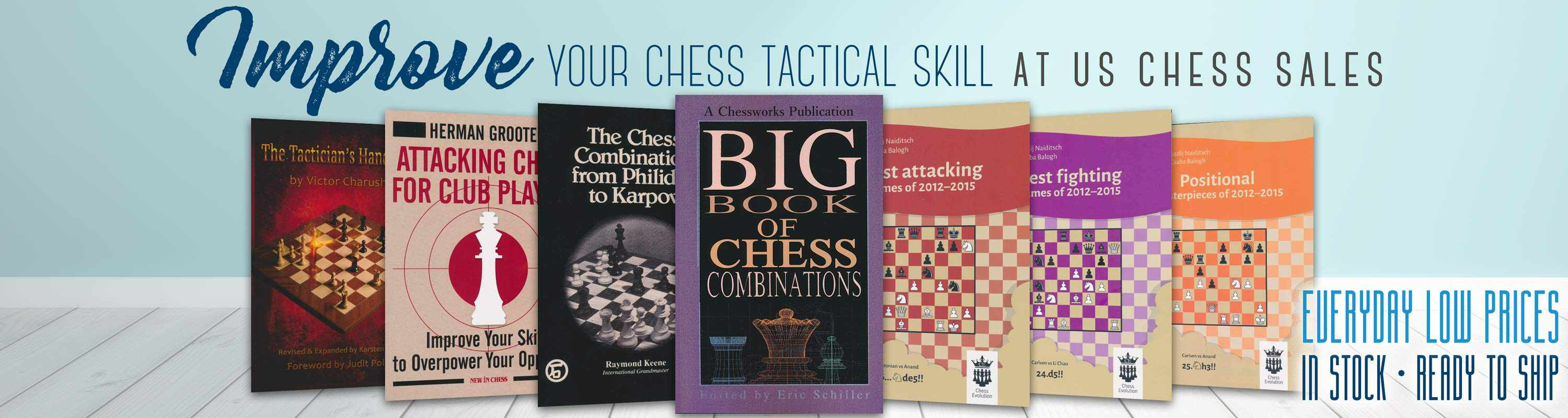 Improve Chess Tactics