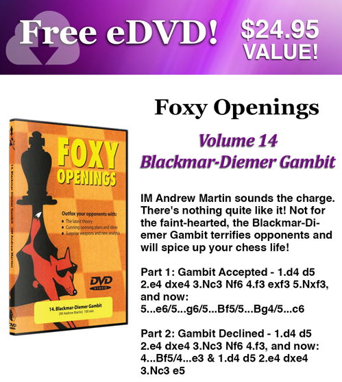 Sign up to our newsletter and receive a FREE E-DVD!