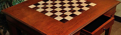 Wood Chess Tables 2