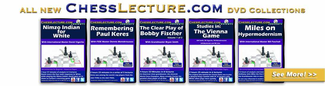 New Chess Lecture dvds