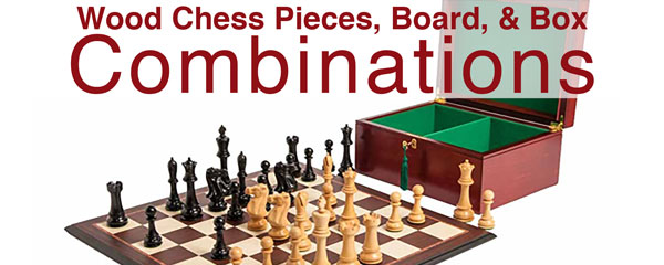 Wood Chess Set Combinations