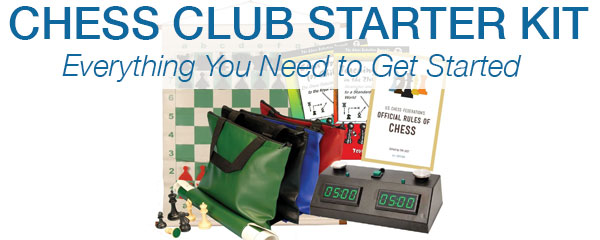 Customize your own Chess Club Starter Kit at USCF Sales!