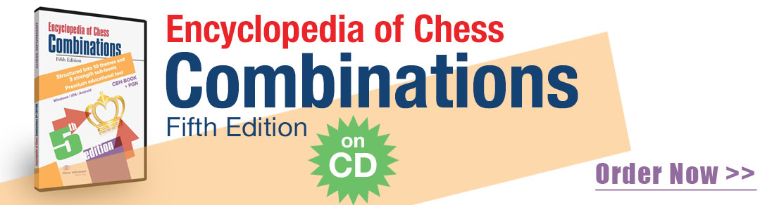 Encyclopedia of Chess Combinations - Fifth Edition CD available at USCF Sales!