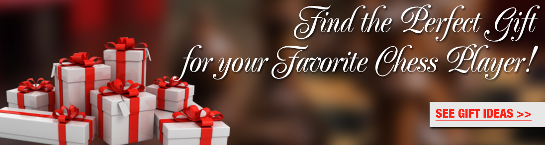 Find the perfect gift for your favorite chess player at USCF Sales!