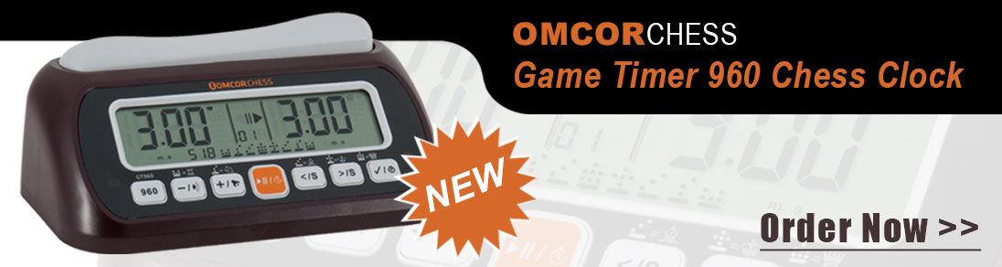 The New Omcor Game Timer 960 Chess Clock at USCF Sales