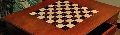 Wood Chess Tables