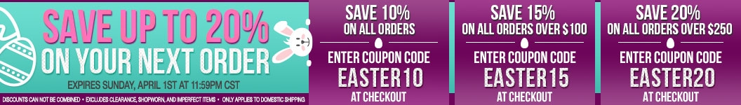 Save up to 20% Off of Your Next Order with these Coupon Codes