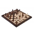 The Small Olympic Chess Set - Brown