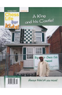 CLEARANCE - Chess Life For Kids Magazine - October 2015 Issue