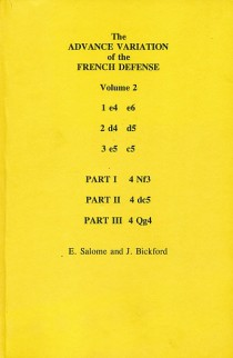 CLEARANCE - The Advance Variation of the French Defense - Vol. 2